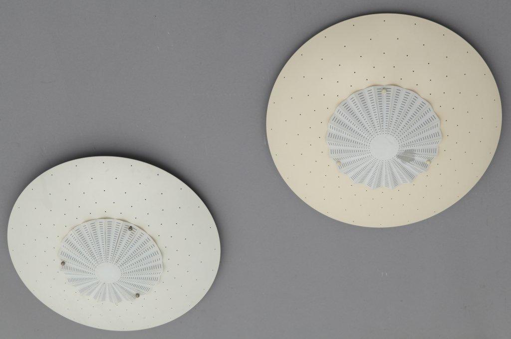O-LUCE (Editore) Due lampade da parete o da