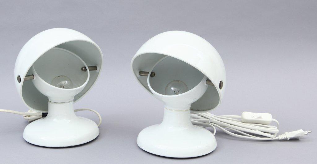 """TOBIA SCARPA Due lampade da tavolo """"Jucker"""""""
