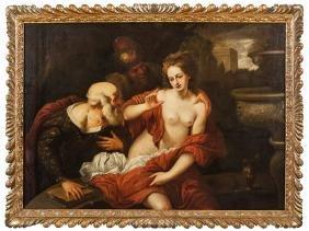 CERVETTO GIOVANNI PAOLO (1630-1657)  Susanna e