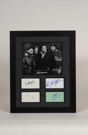 The Highwayman Signed Framed Display