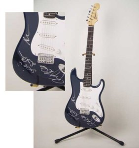 Janes Addiction Signed Guitar