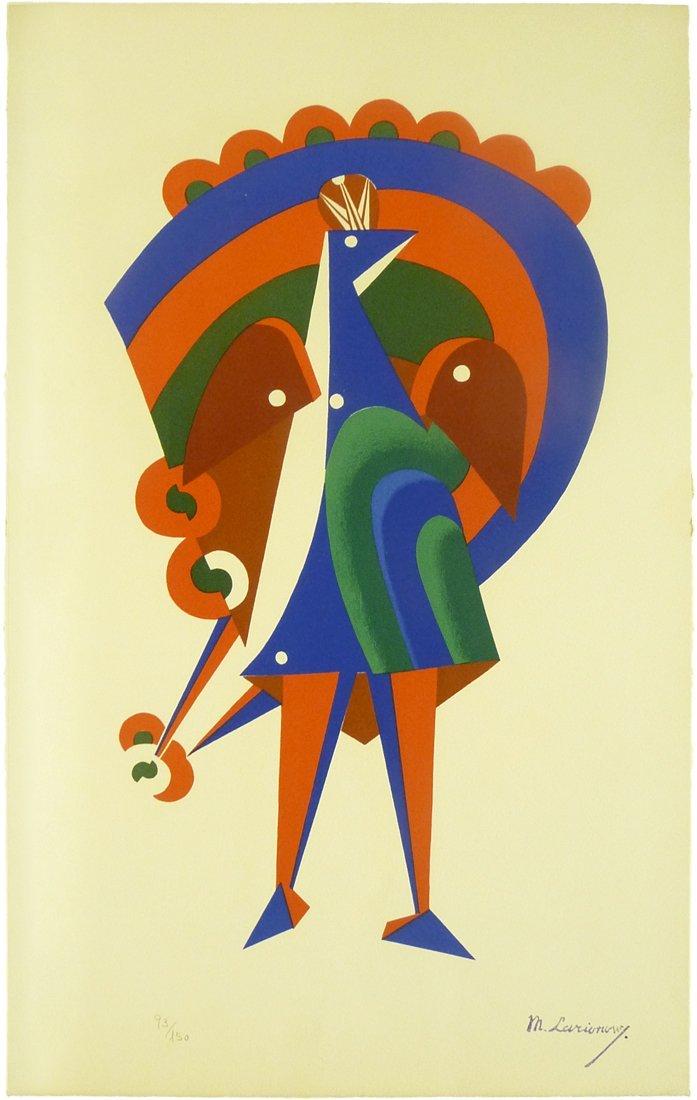 Mikhail Fedorovich Larionov (1881 – 1964) - Silkscreen