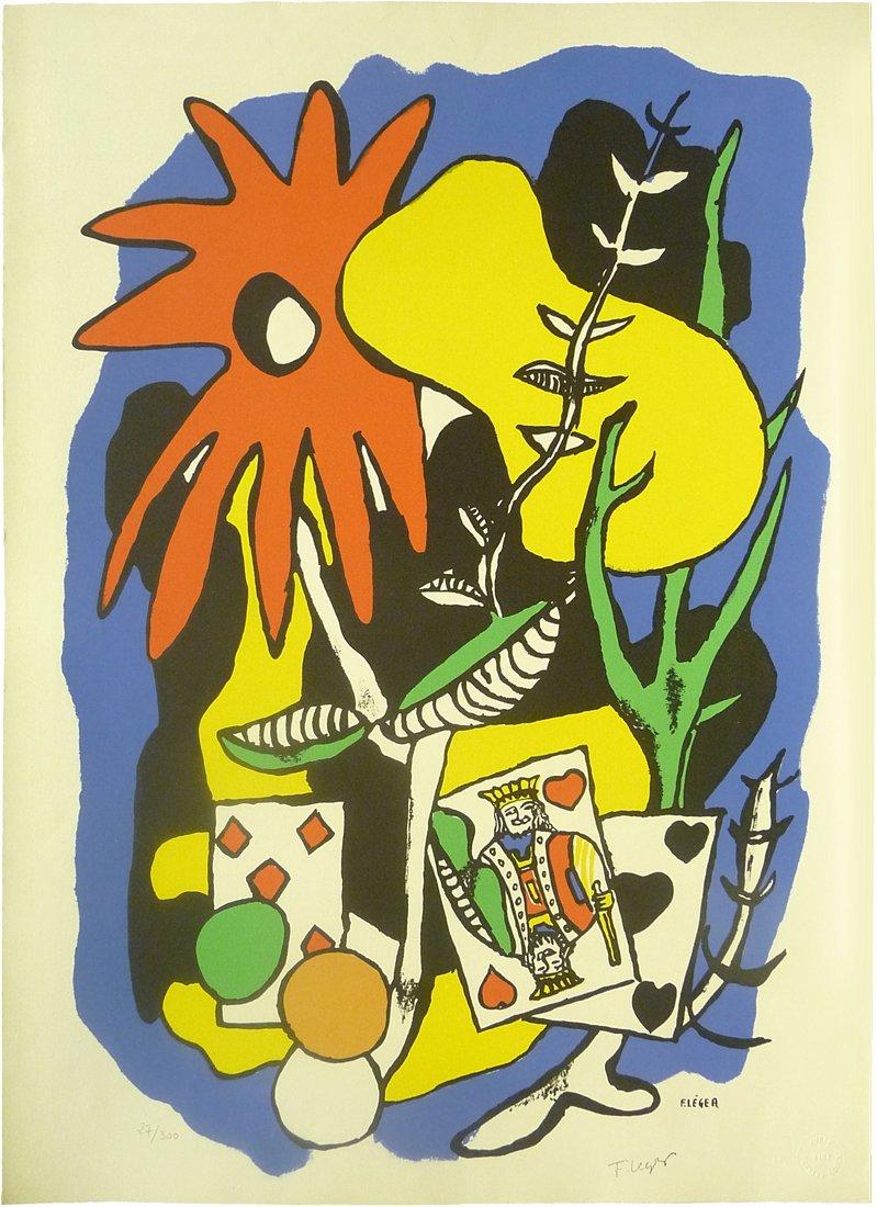 Fernand Leger (1881 - 1955) - Lithograph