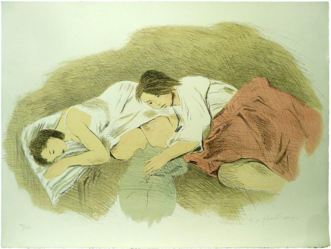 Raphael Soyer (1899 – 1987) - Lithograph