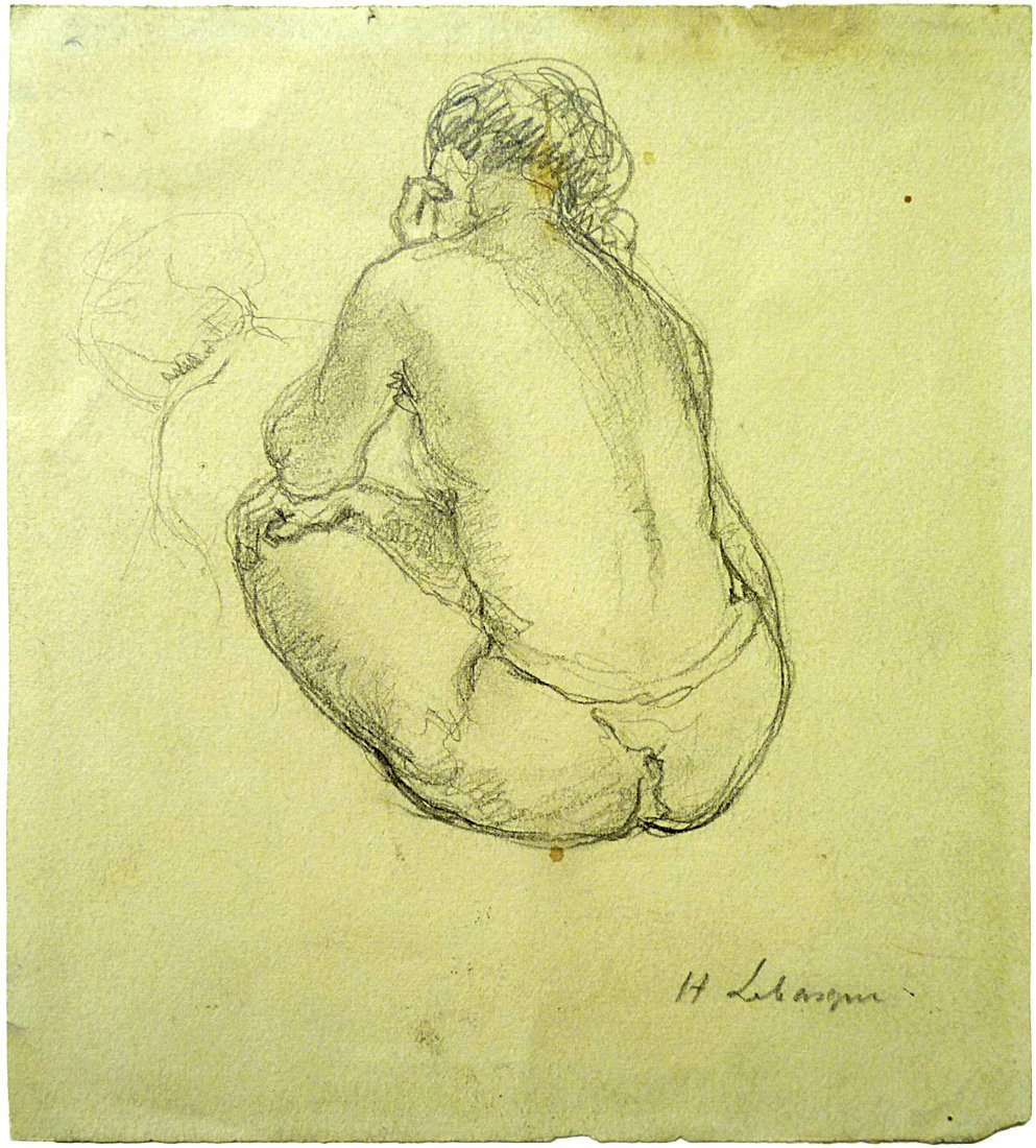 Henri Lebasque (1865 – 1937) - Female Nude