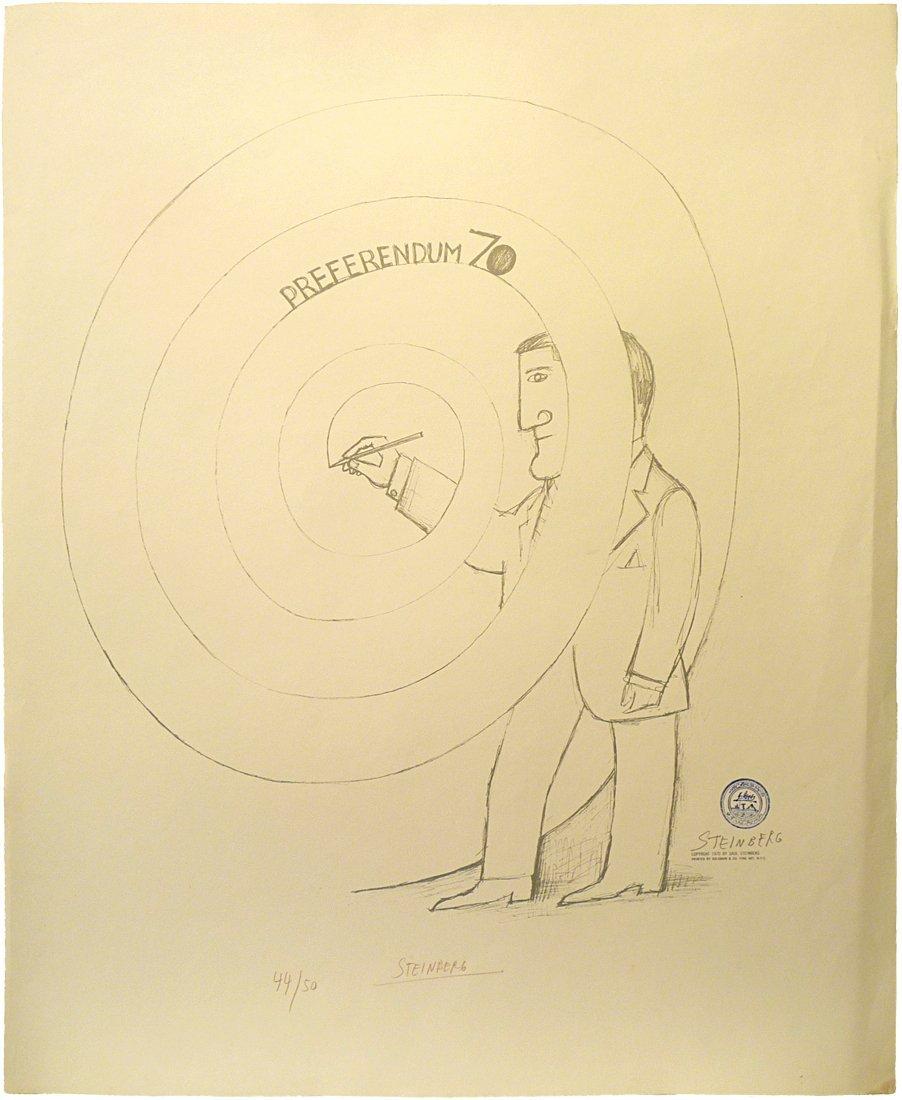 Leo Steinberg (1920 - 2011) - Lithograph