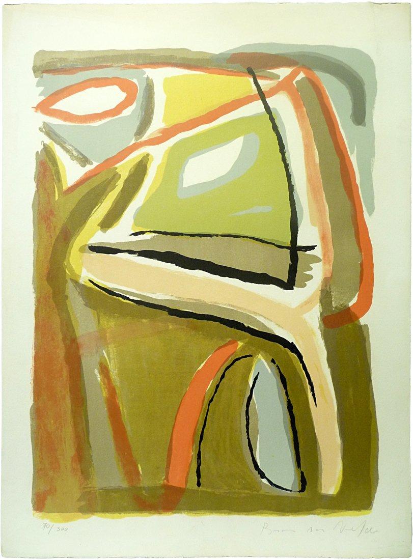 Bram Van Velde (1895-1981) - Lithograph in colors