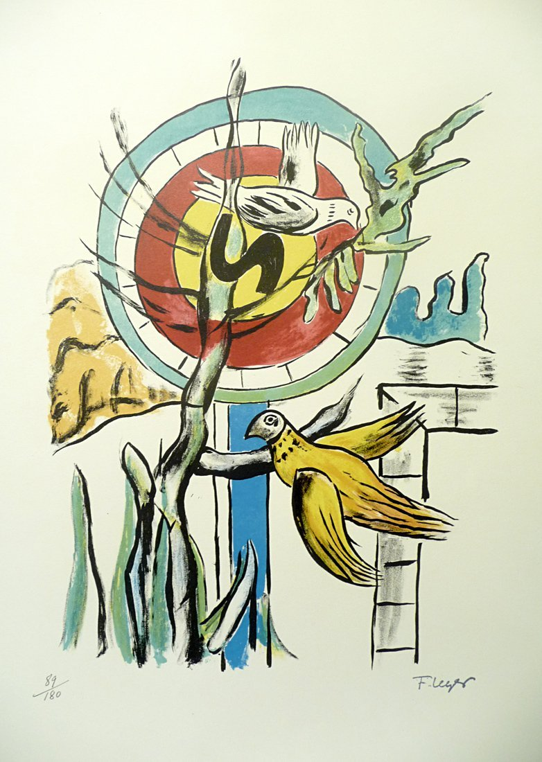 Fernand Léger (1881 – 1955) - Lithograph