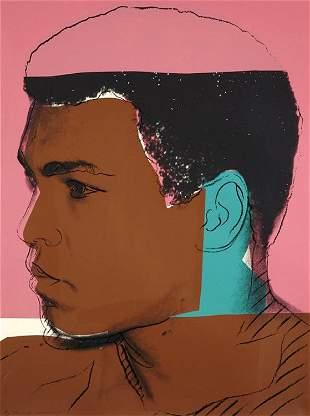 Andy Warhol – Muhammad Ali – Limited Edition Print