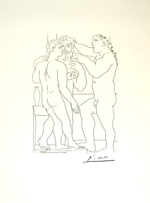 Pablo Picasso - Suite Vollard #4 - Limited Edition