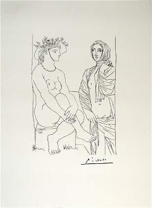 Pablo Picasso - Suite Vollard #4 Lithograph