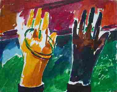 Christopher Brown - Hands - Oil Painting
