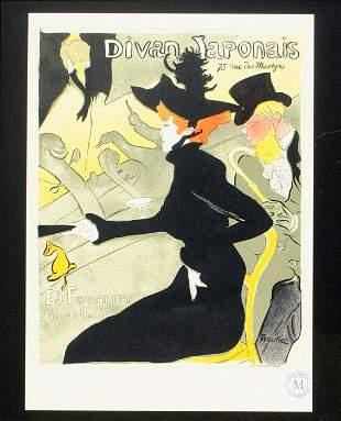 Henri de Toulouse-Lautrec - Divan Japonais 1951.