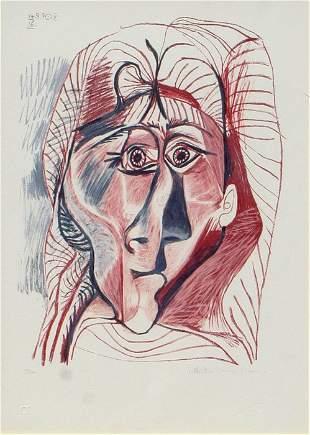Pablo Picasso - Visage de Femme de Facу