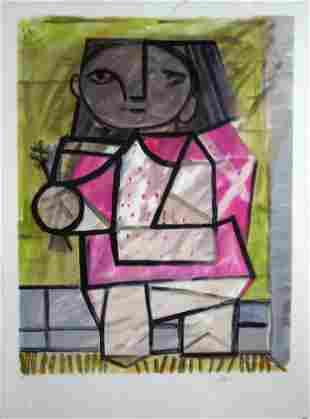 Pablo Picasso - Enfant en Pied - Lithograph