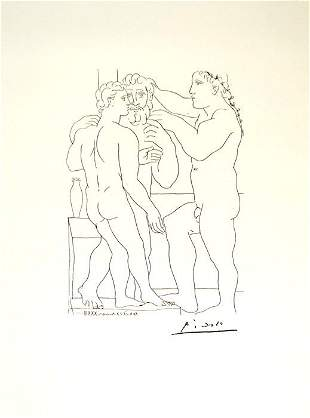 Pablo Picasso Suite Vollard #4 - Limited Edition of 150