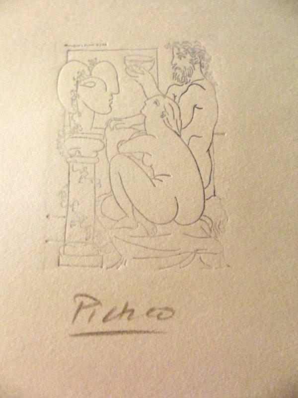 Pablo Picasso - Escultor Con Cuenco y Modelo - 1933