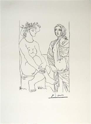 Pablo Picasso - Suite Vollards # 4 - No Reserve