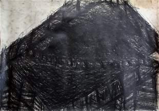 Nancy Rubins - Original Drawing - graphite on paper