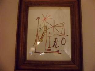 Joan Miro - Untitled - Limited Edition Lithograph