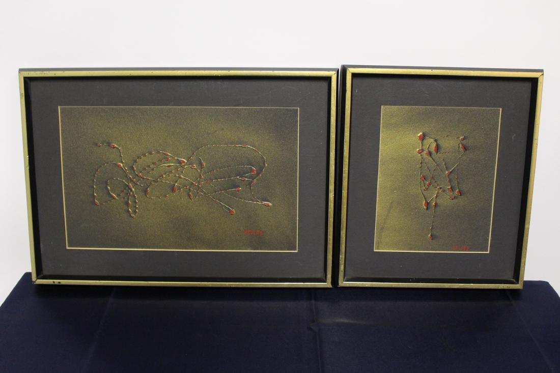 Two Robert Kelsey Oil Paintings