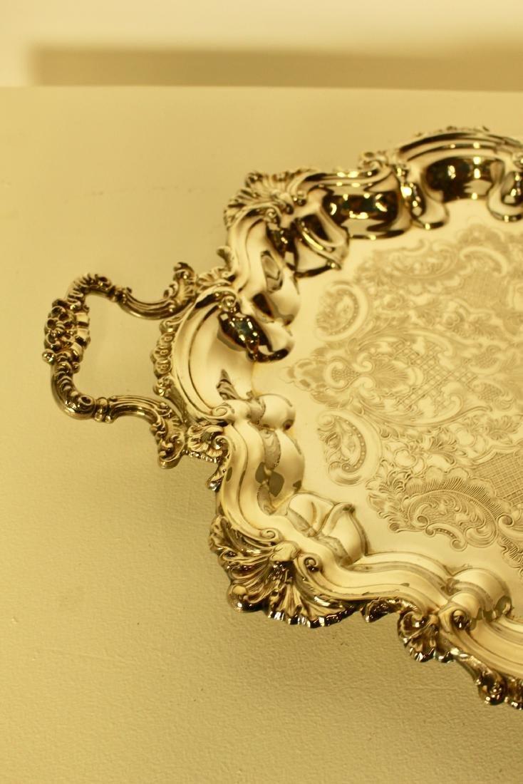 Large Rococo Marlboro Plate Platter - 2