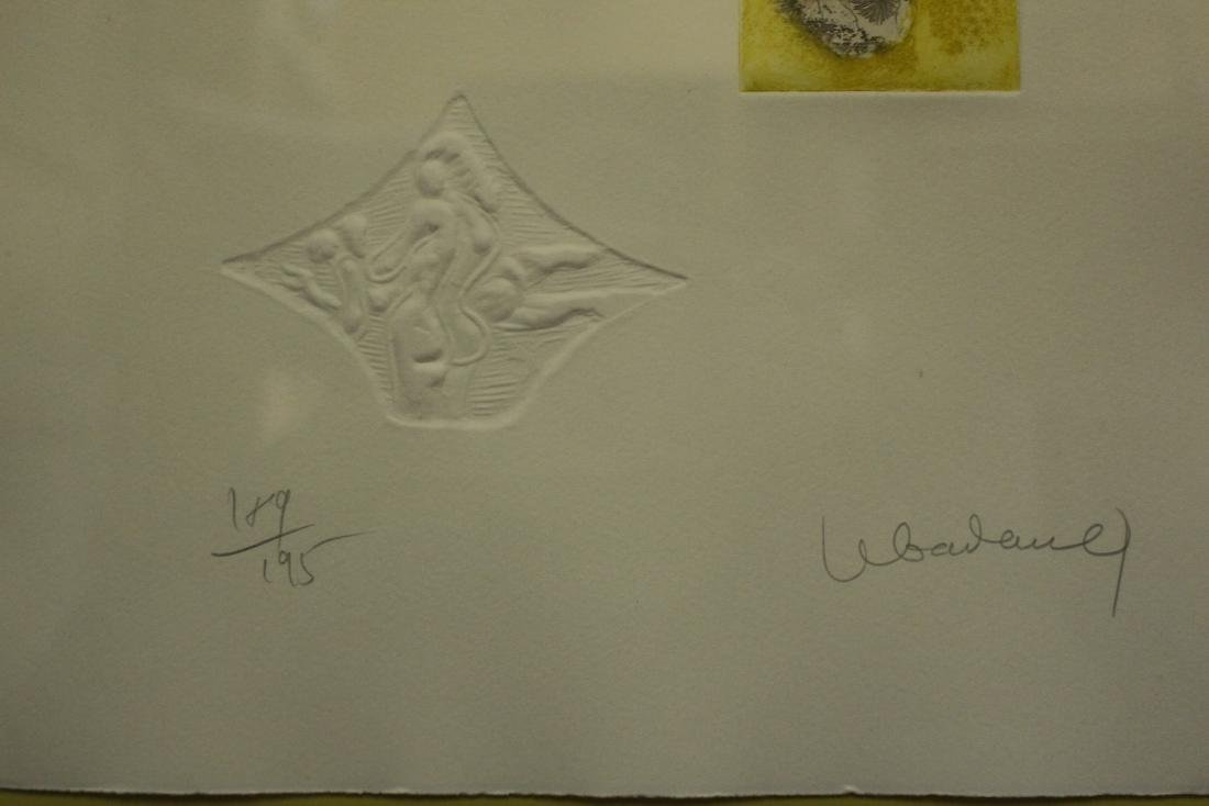LeBadang Limited Edition Litograph with Embossing - 3