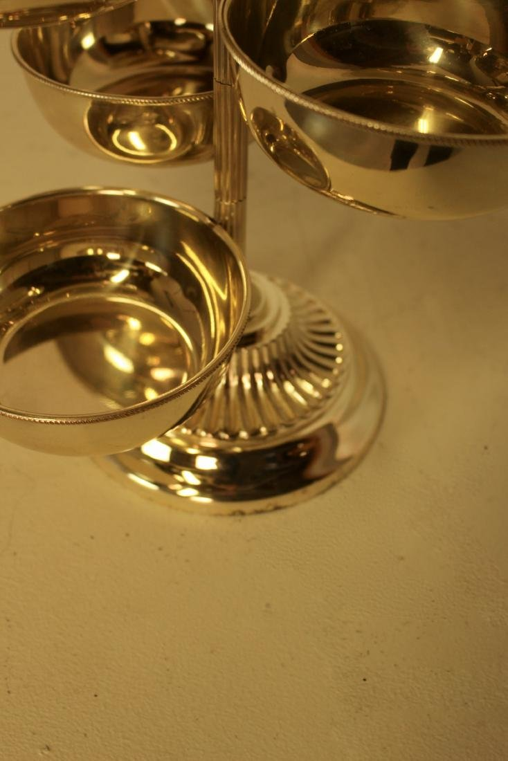 Revolving Silver Plate Serving Piece - 4