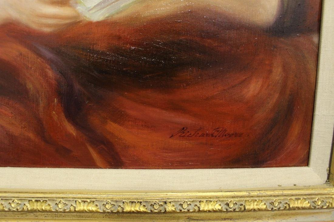 Richard Moore Oil Painting of Twin Sisters - 5