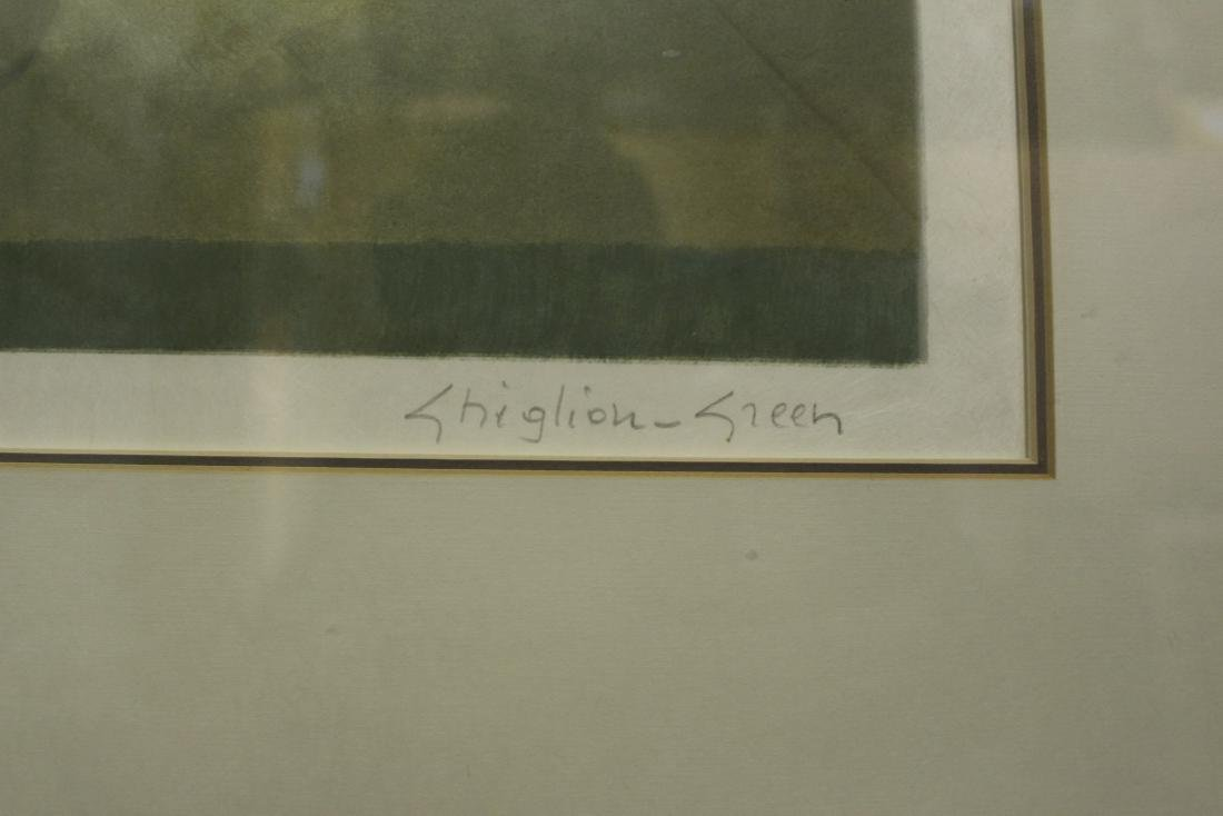 Maurice Chiglion-Green Limited Edition Lithograph - 5