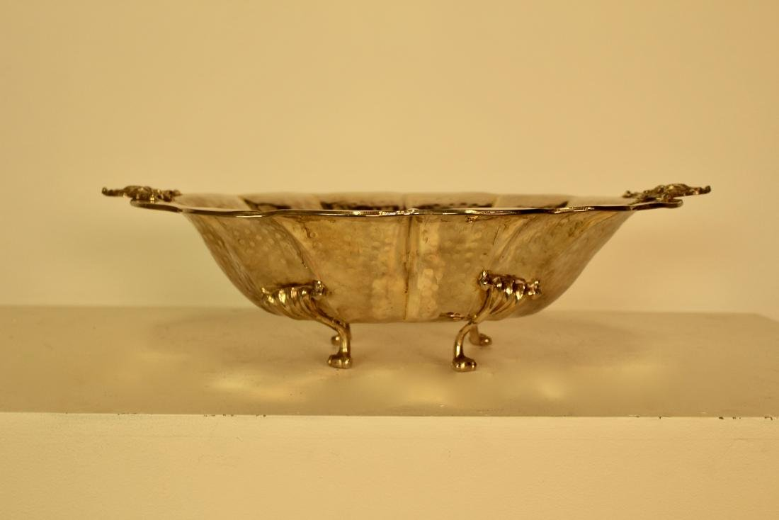 Exceptional Quality Large Hammered Finish Serving Dish - 5