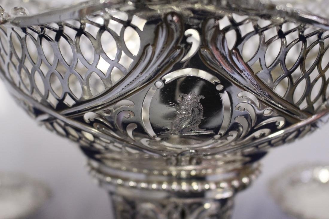 Thomas Pitts Sterling Silver  Royal Family Epergne - 10