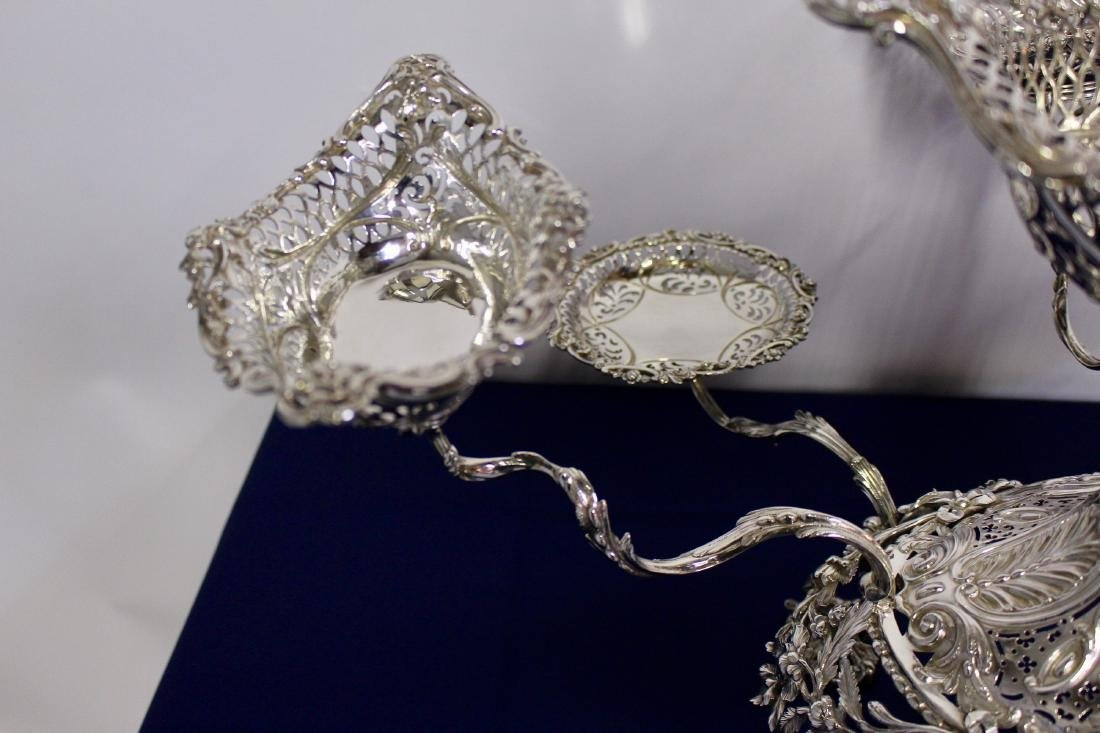 Thomas Pitts Sterling Silver  Royal Family Epergne - 3