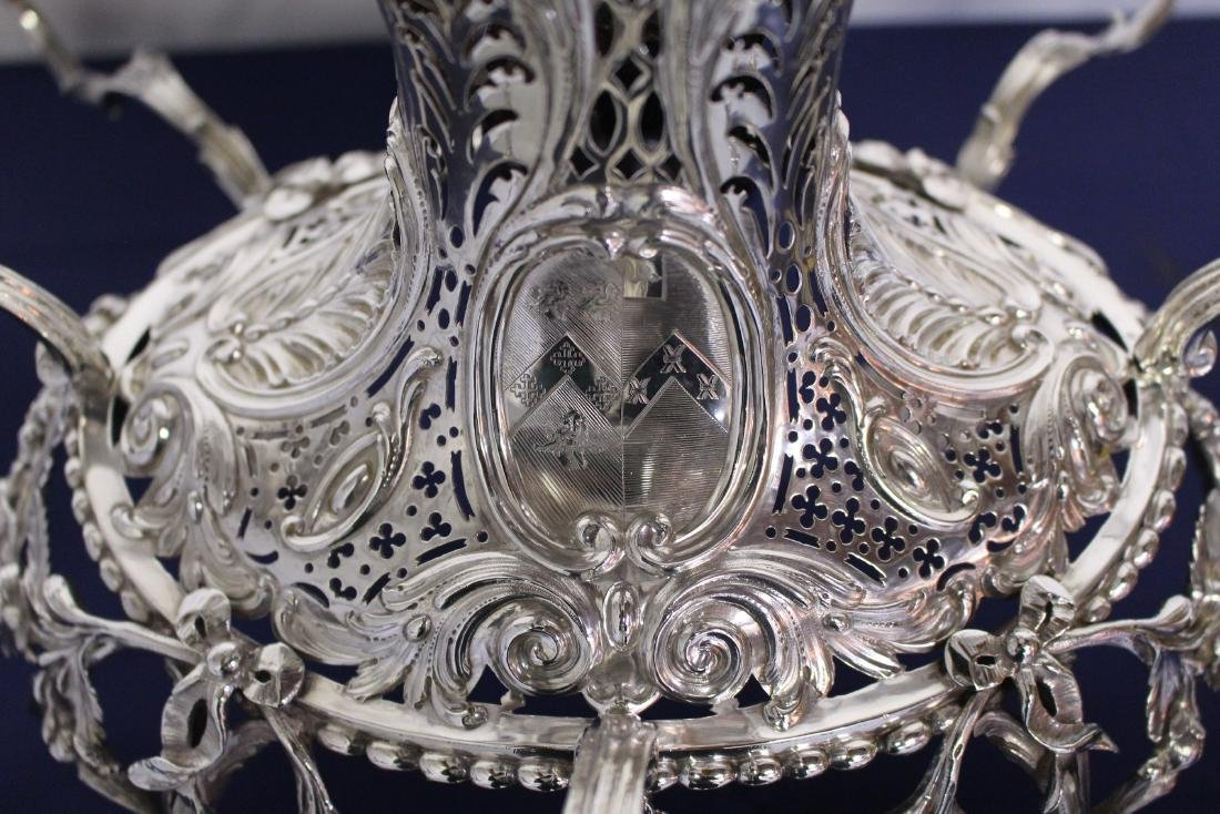 Thomas Pitts Sterling Silver  Royal Family Epergne - 8