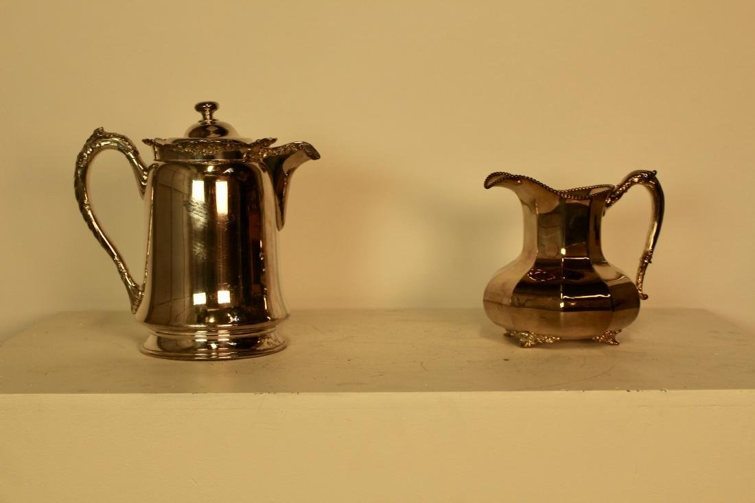 Two Reed & Barton Silver Plate Water Jugs - 2