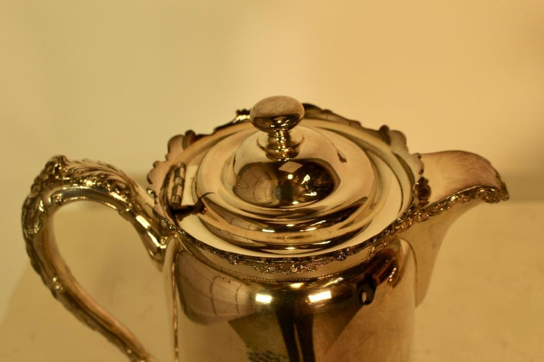 Two Reed & Barton Silver Plate Water Jugs - 4