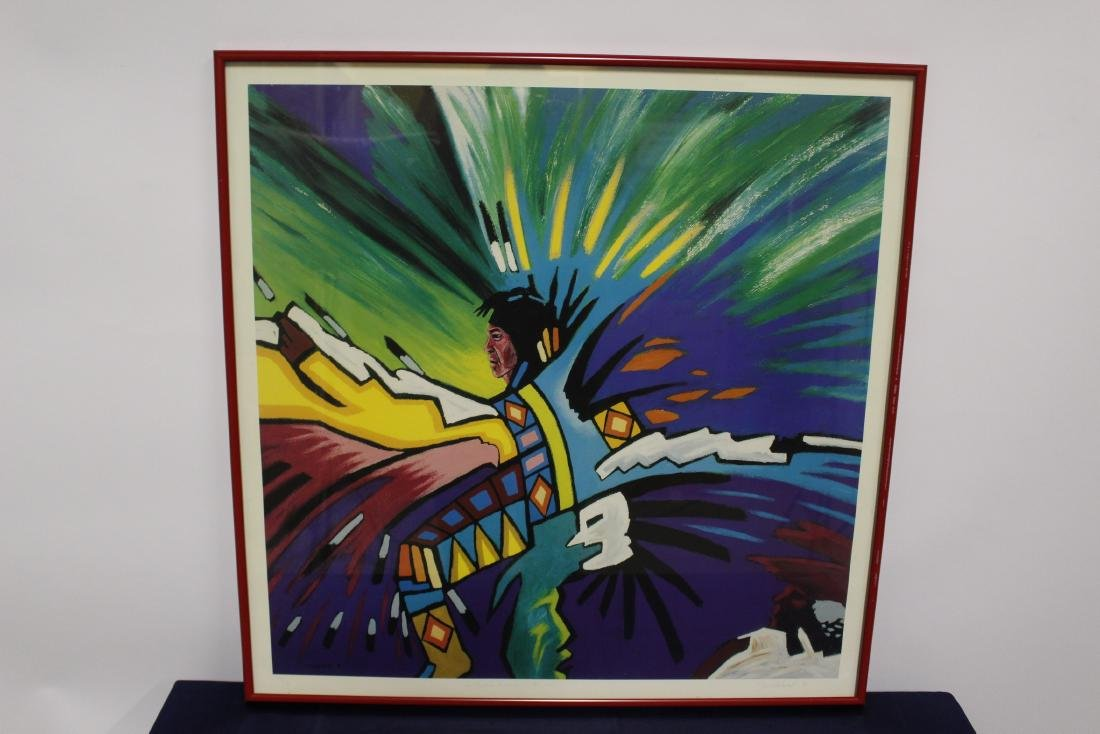 J.Whitehead Limited Edition Colour Lithograph