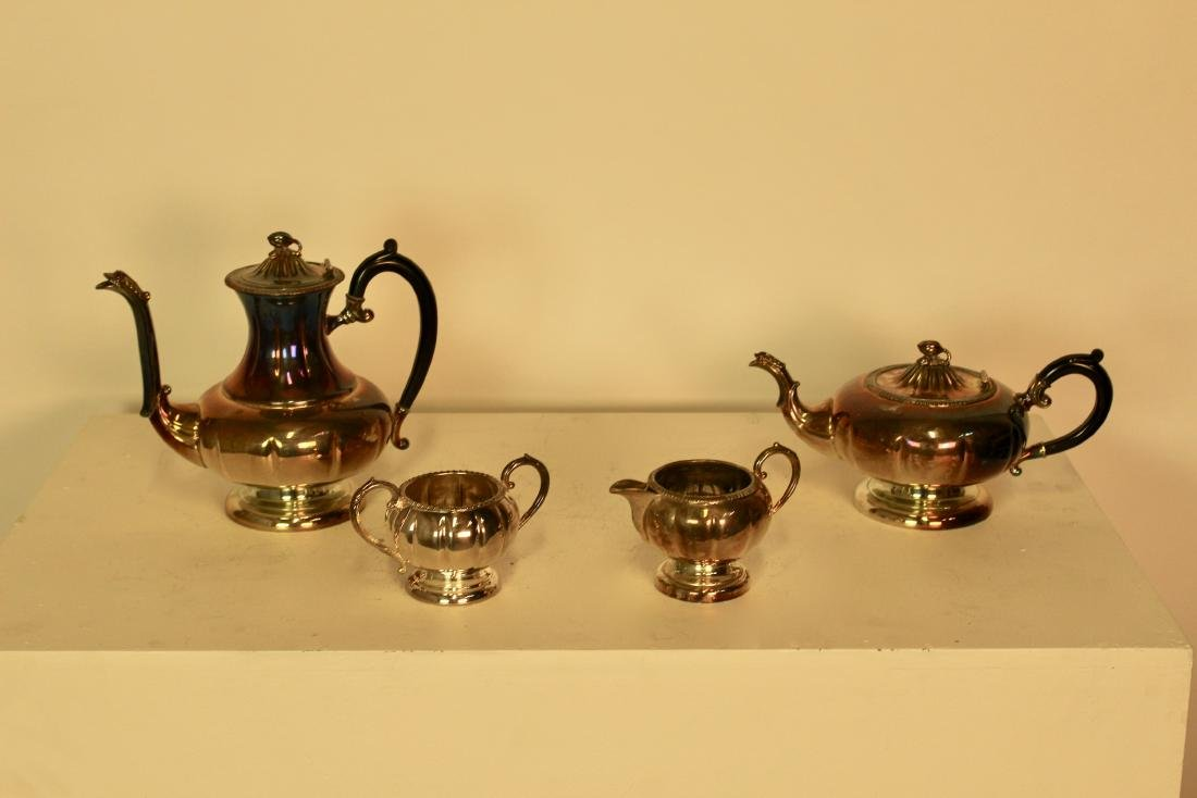 Old Sheffield Reproduction Silver Plate Set