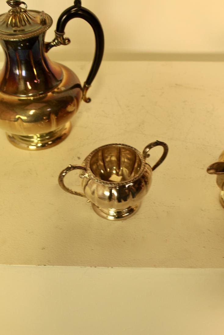 Old Sheffield Reproduction Silver Plate Set - 3