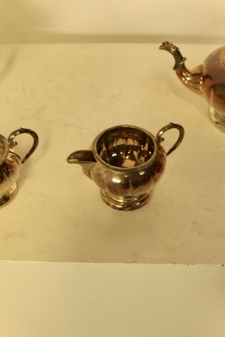 Old Sheffield Reproduction Silver Plate Set - 4