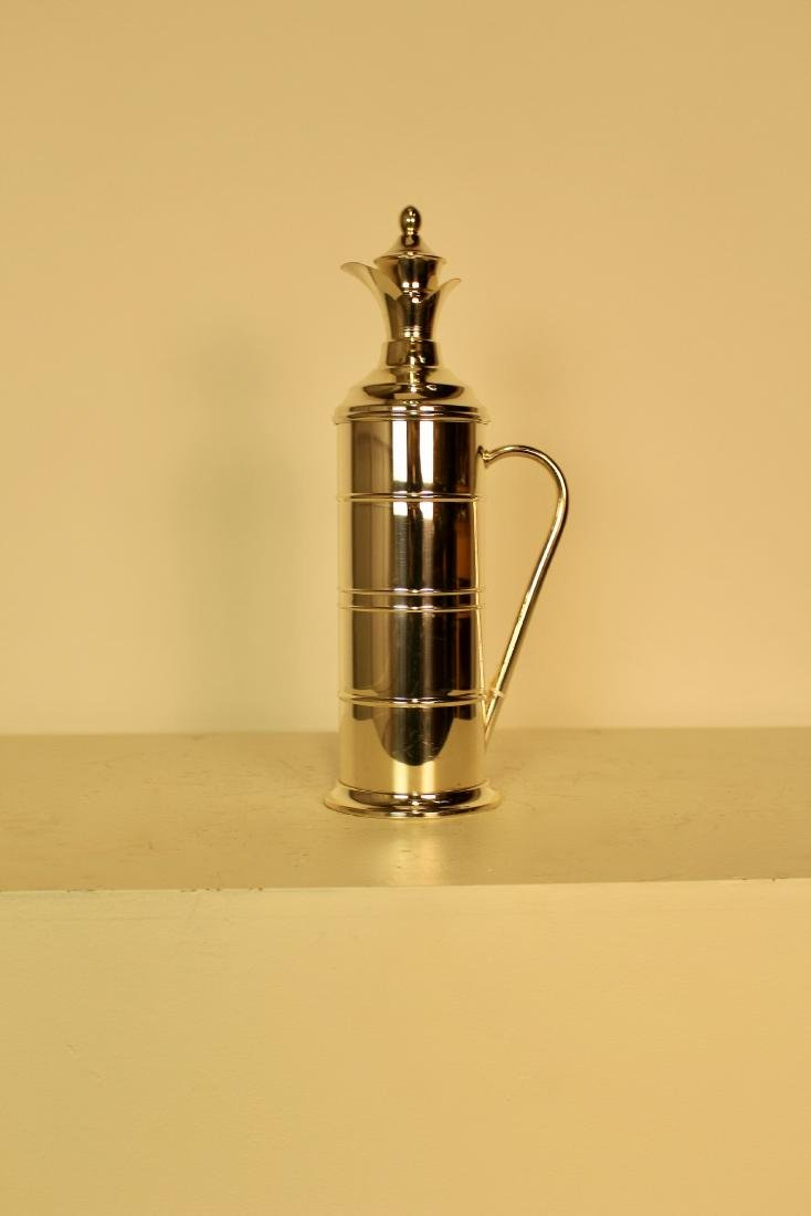Silver Plate Hot Water Jug - 2