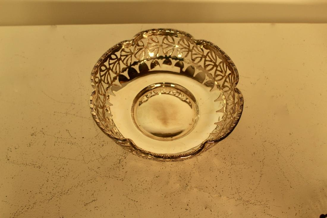 Five Pieces of Silver Plate Candy Dishes - 4