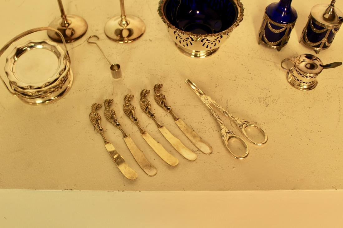 13 Assorted Pieces of Silver Plate Table Ware - 2