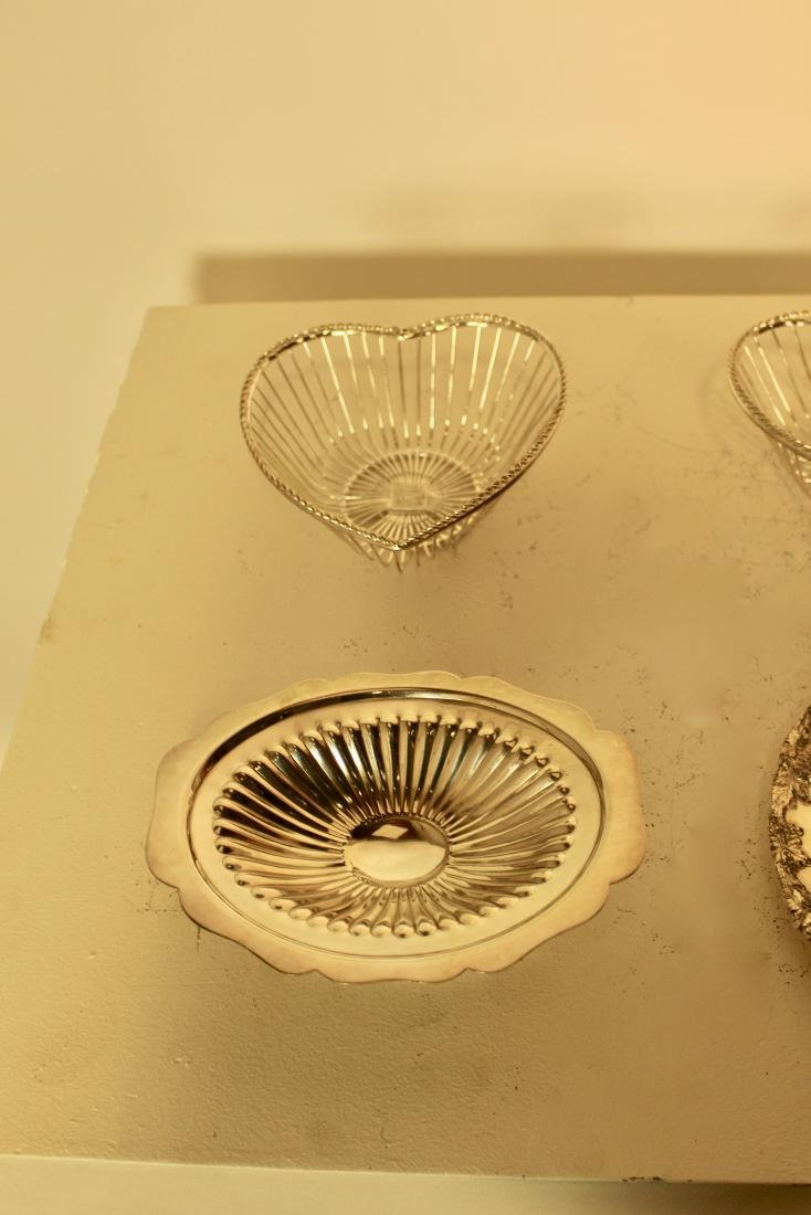 6 Silver Plate Pieces - 2