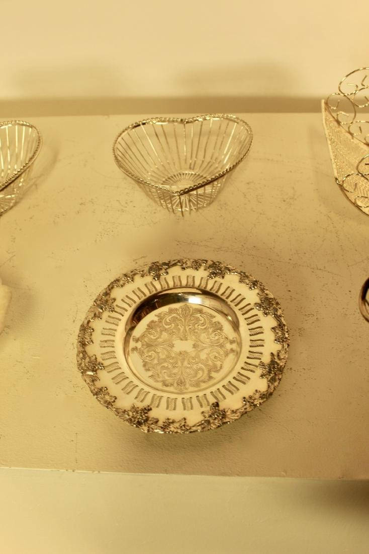 6 Silver Plate Pieces - 3