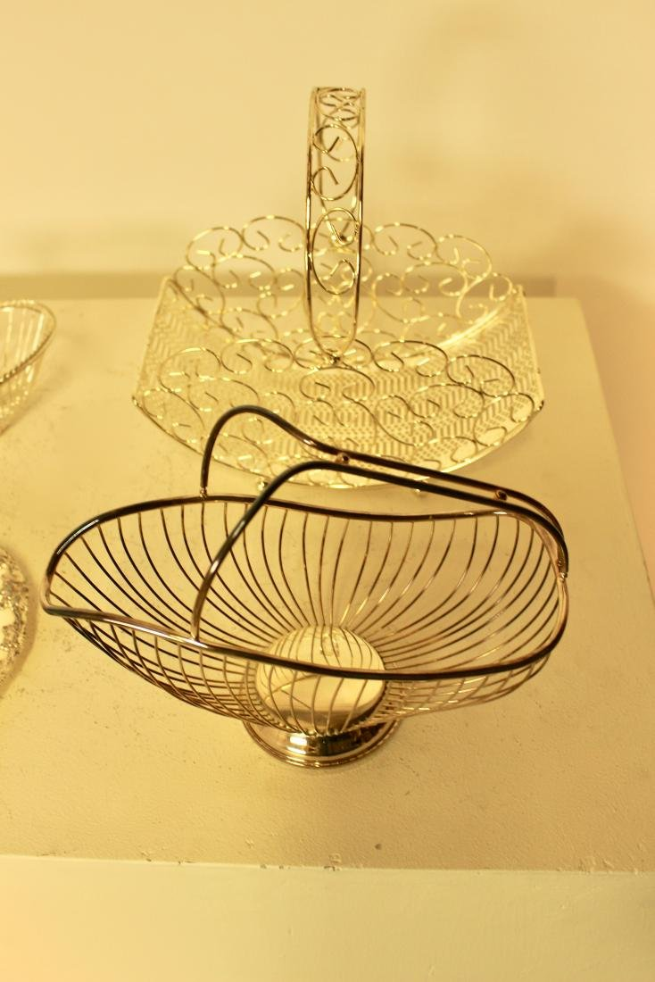 6 Silver Plate Pieces - 4