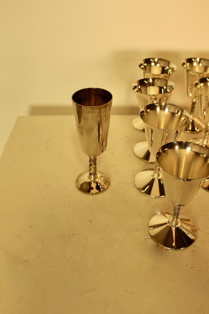 Set of 27 Silver Plate Cups - 5