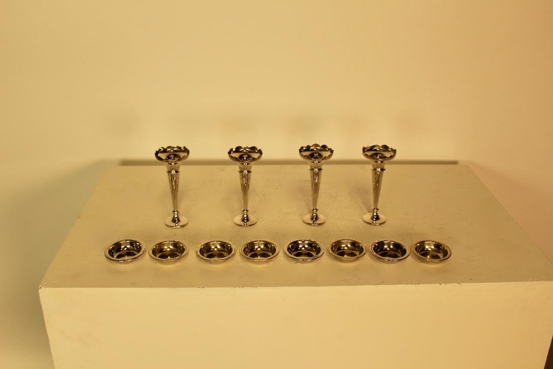 12 Silver Plate Pieces