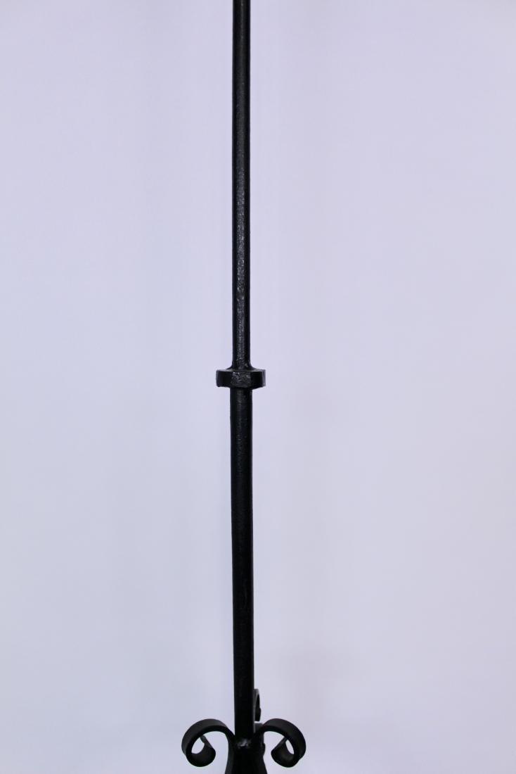 Wrought Iron Arts & Crafts Floor Lamp - 3