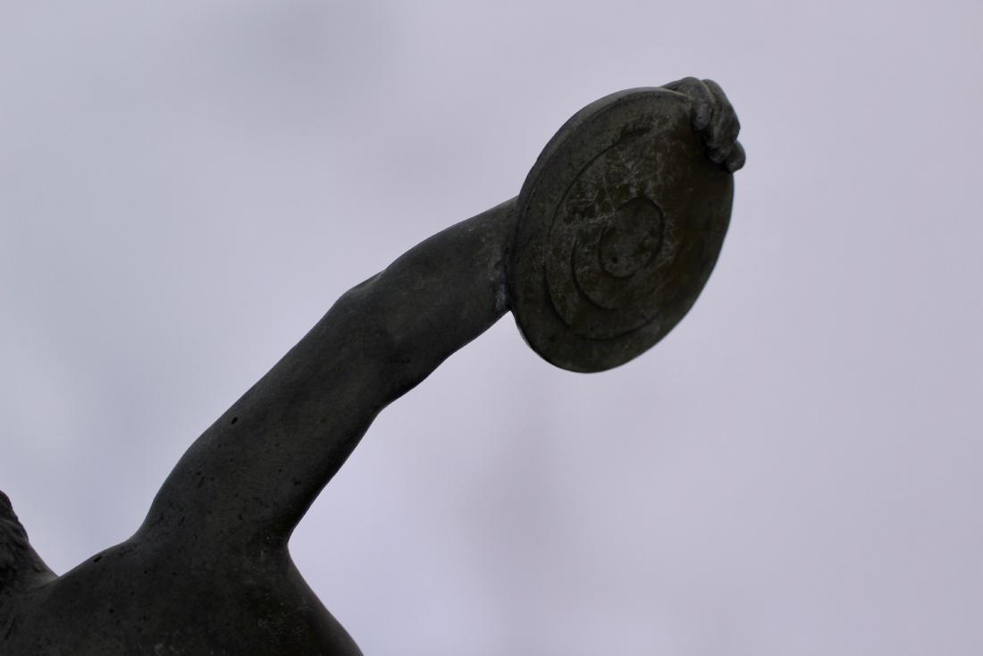 Bronze Sculpture of Disc Thrower - 8